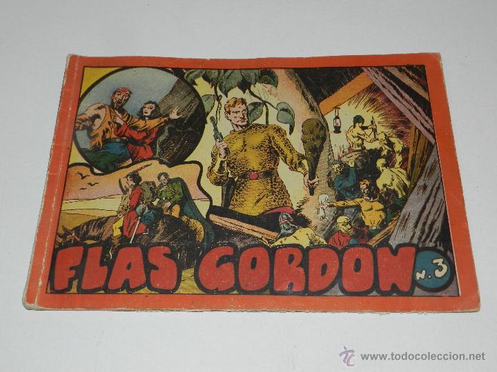 Tebeos: (M-1) FLASH GORDON , COMPLETA !!!!! 3 VOLUMENES , EDT HISPANO AMERICANA 1944 , ALBUM ROJO - Foto 8 - 46544102