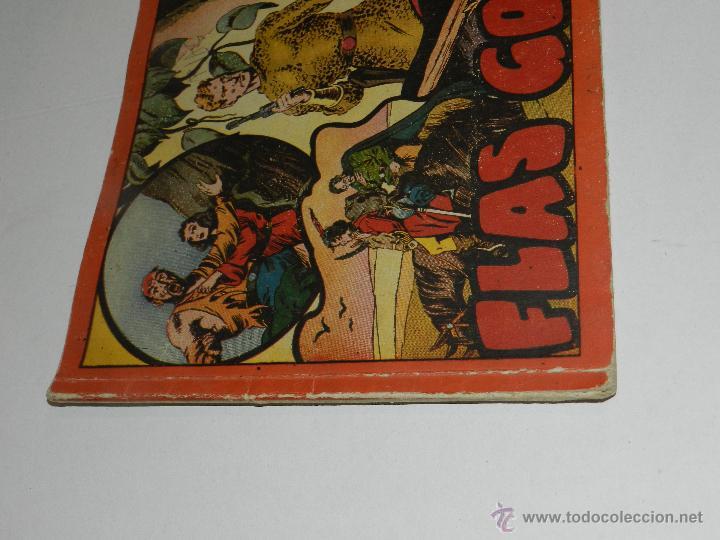 Tebeos: (M-1) FLASH GORDON , COMPLETA !!!!! 3 VOLUMENES , EDT HISPANO AMERICANA 1944 , ALBUM ROJO - Foto 9 - 46544102