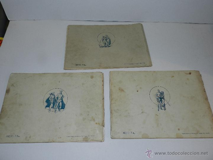 Tebeos: (M-1) FLASH GORDON , COMPLETA !!!!! 3 VOLUMENES , EDT HISPANO AMERICANA 1944 , ALBUM ROJO - Foto 10 - 46544102