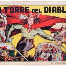 Tebeos: LA TORRE DEL DIABLO - MONOGRÁFICO DE IRANZO - ORIGINAL, 1.ª ED 1943 - HISPANO AMERICANA. Lote 46608550