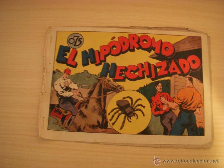 JUAN CENTELLA, EL HIPÓDROMO HECHIZADO, EDIOTRIAL VALENCIANA (Tebeos y Comics - Hispano Americana - Juan Centella)