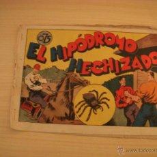 Tebeos: JUAN CENTELLA, EL HIPÓDROMO HECHIZADO, EDIOTRIAL VALENCIANA. Lote 46695597