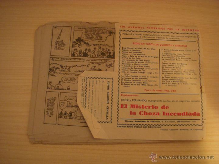 Tebeos: JUAN CENTELLA, EL HIPÓDROMO HECHIZADO, EDIOTRIAL VALENCIANA - Foto 2 - 46695597