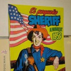 Tebeos: ALMANAQUE EL PEQUEÑO SHERIFF 1956 HISPANO AMERICANA DE EDICIONES REEDICION. Lote 46723776