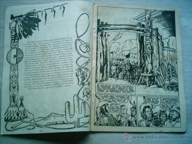 Tebeos: PECOS BILL Nº 11 LA DERROTA DE PECOS BILL / HISPANO AMERICANA 1951 - Foto 2 - 46727563