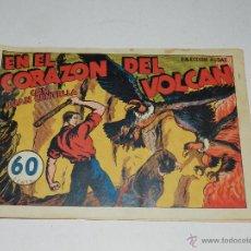 Tebeos: (M-1) JUAN CENTELLA - EM EL CORAZON DEL VOLCAN NUM 35, HISPANO AMERICANA, SEÑALES D EUSO. Lote 46893202