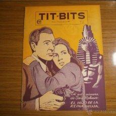 Tebeos: TIT BITS N° 2052 - AÑO 1948 - EL HIJO DE LA REINA BRUJA! - HISTORIETA ORIGINAL ARGENTINA ANTIGUA. Lote 139345324