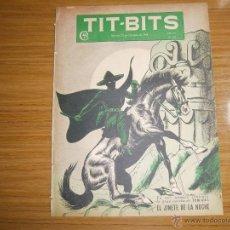 Tebeos: TIT BITS N° 2053 - AÑO 1948 - EL JINETE DE LA NOCHE! - HISTORIETA ORIGINAL ARGENTINA ANTIGUA. Lote 139345410