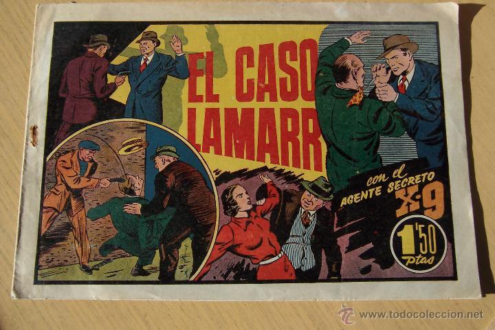 Tebeos: hispano americana. lote agente secreto x-9 formato grande los 14 que son - Foto 14 - 33145230