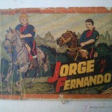 Tebeos: ALBUM ROJO - JORGE Y FERNANDO . Lote 46993684