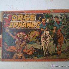 Tebeos: ALBUM ROJO - JORGE Y FERNANDO . Lote 46993735