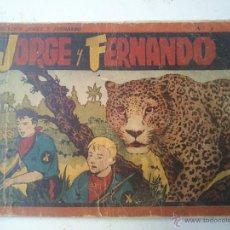 Tebeos: ALBUM ROJO - JORGE Y FERNANDO . Lote 46993782
