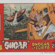 Livros de Banda Desenhada: SUGAR AGENTE SECRETO 1965.. Lote 47298820