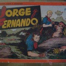 Tebeos: JORGE Y FERNANDO ALBUM Nº2 -HISPANO AMERICANA - AÑO 1944 ORIGINAL Y BIEN CONSERVADO. Lote 47385475