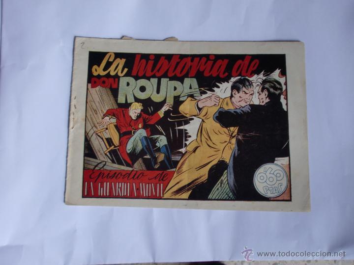 LA GUARDIA MOVIL Nº 2 ORIGINAL (Tebeos y Comics - Hispano Americana - Otros)