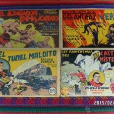 Tebeos: JUAN CENTELLA NºS 1 AL 44 ORIGINALES Y SUELTOS. HISPANO AMERICANA 1940. 0,50 PTS. MUY DIFÍCILES!!!!!. Lote 47696086