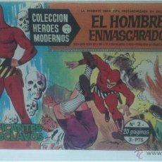 Tebeos: COMIC DEL HOMBRE ENMASCARADO Nº2. COLECCION HEROES MODERNOS. TRAFICANTES DE ESCLAVOS. Lote 47793217