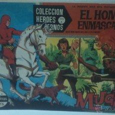 Tebeos: COMIC DEL HOMBRE ENMASCARADO Nº6. COLECCION HEROES MODERNOS. MUGU. Lote 47793579