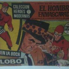 Tebeos: COMIC DEL HOMBRE ENMASCARADO Nº12. COLECCION HEROES MODERNOS. EN LA BOCA DEL LOBO. Lote 47794070