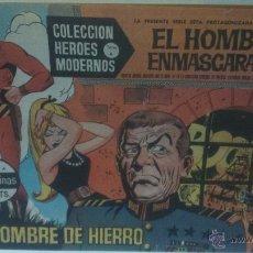 Tebeos: COMIC DEL HOMBRE ENMASCARADO Nº13. COLECCION HEROES MODERNOS. UN HOMBRE DE HIERRO. Lote 47794126