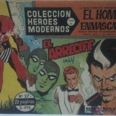Tebeos: COMIC DEL HOMBRE ENMASCARADO Nº27. COLECCION HEROES MODERNOS. EL ARRECIFE. Lote 47809764