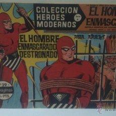 Tebeos: COMIC DEL HOMBRE ENMASCARADO Nº29. COLECCION HEROES MODERNOS. EL HOMBRE ENMASCARADO DESTRONADO. Lote 47809823