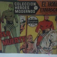 Tebeos: COMIC DEL HOMBRE ENMASCARADO Nº30. COLECCION HEROES MODERNOS. DUELO A MUERTE. Lote 47809870