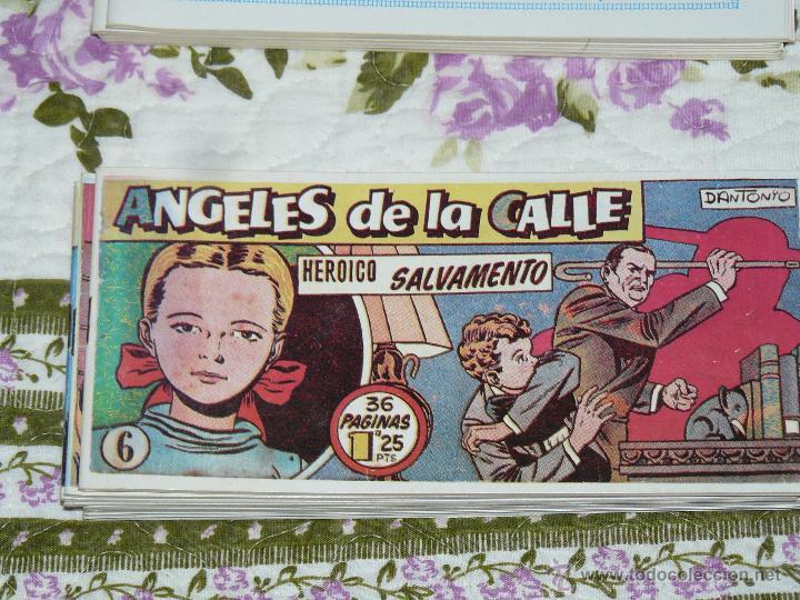TEBEOS-COMICS CANDY - ANGELES DE LA CALLE - Nº 6 - HISPANOAMERICANA 1951 *BB99 (Tebeos y Comics - Hispano Americana - Otros)