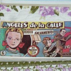 Tebeos: TEBEOS-COMICS CANDY - ANGELES DE LA CALLE - Nº 6 - HISPANOAMERICANA 1951 *BB99. Lote 171534715
