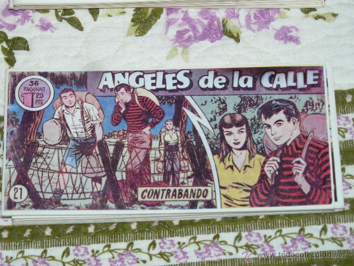 TEBEOS-COMICS CANDY - ANGELES DE LA CALLE - Nº 21 - HISPANOAMERICANA 1951 *BB99 (Tebeos y Comics - Hispano Americana - Otros)