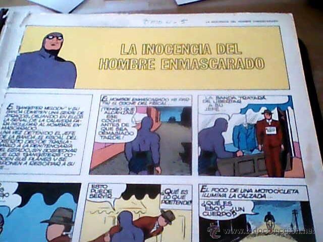 EL HOMBRE ENMASCARADO TOMO 4 Y 5 DE BURULAN COMICS (Tebeos y Comics - Hispano Americana - Hombre Enmascarado)