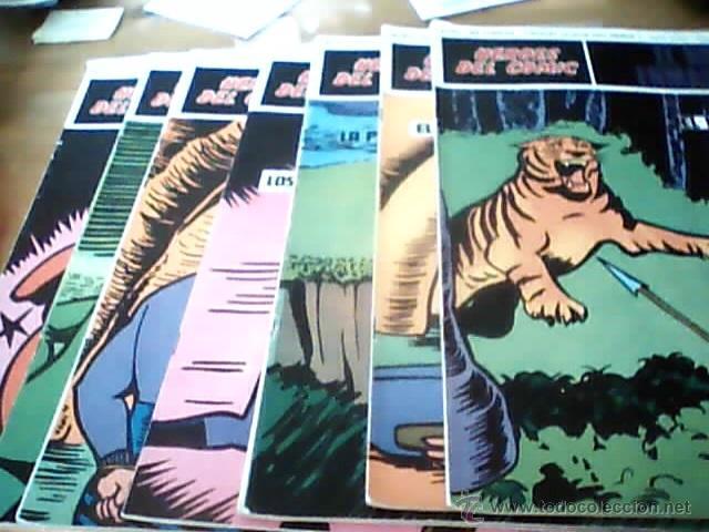 EL HOMBRE ENMASCARADO BURULAN COMICS 8 TEBEOS (Tebeos y Comics - Hispano Americana - Hombre Enmascarado)