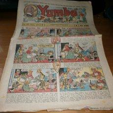 Tebeos: YUMBO AÑO III Nº 77 - EDT. HISPANO AMERICANA - 29 DE ABRIL DE 1936 - ORIGINAL.. Lote 48383686