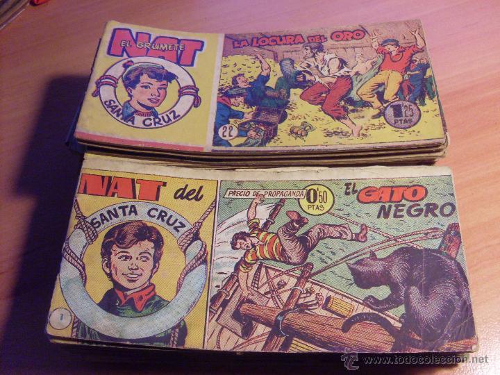 NAT DE SANTA CRUZ EL GRUMETE . COMPLETA 1 AL 57. (ORIGINAL HISPANO AMERICANA) (COIB69) (Tebeos y Comics - Hispano Americana - Otros)