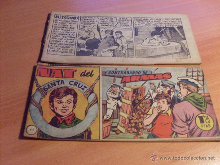 Tebeos: NAT DE SANTA CRUZ EL GRUMETE . COMPLETA 1 AL 57. (ORIGINAL HISPANO AMERICANA) (COIB69) - Foto 8 - 48668813