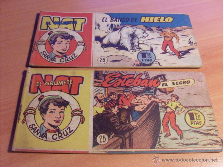 Tebeos: NAT DE SANTA CRUZ EL GRUMETE . COMPLETA 1 AL 57. (ORIGINAL HISPANO AMERICANA) (COIB69) - Foto 15 - 48668813
