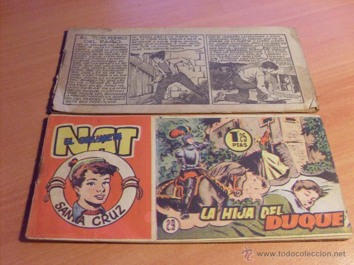 Tebeos: NAT DE SANTA CRUZ EL GRUMETE . COMPLETA 1 AL 57. (ORIGINAL HISPANO AMERICANA) (COIB69) - Foto 17 - 48668813