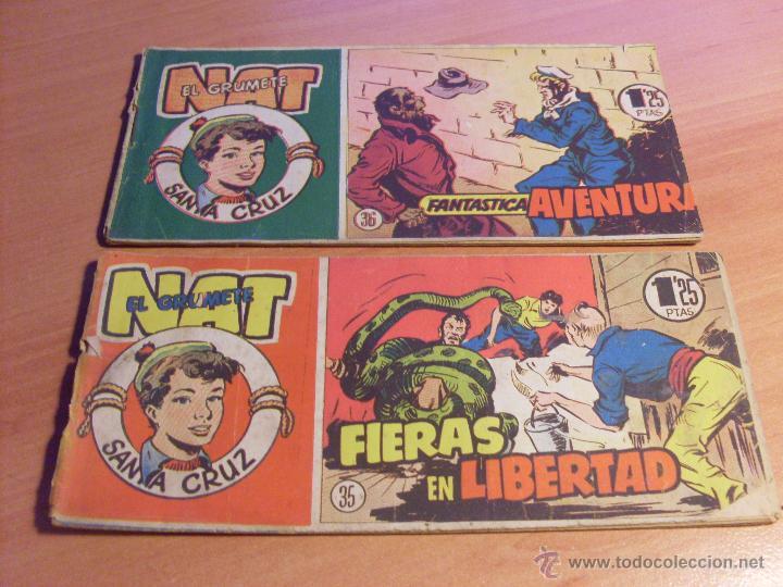 Tebeos: NAT DE SANTA CRUZ EL GRUMETE . COMPLETA 1 AL 57. (ORIGINAL HISPANO AMERICANA) (COIB69) - Foto 20 - 48668813