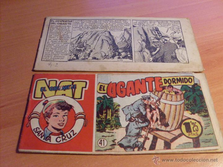 Tebeos: NAT DE SANTA CRUZ EL GRUMETE . COMPLETA 1 AL 57. (ORIGINAL HISPANO AMERICANA) (COIB69) - Foto 23 - 48668813
