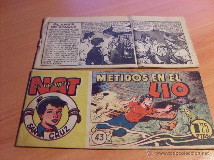 Tebeos: NAT DE SANTA CRUZ EL GRUMETE . COMPLETA 1 AL 57. (ORIGINAL HISPANO AMERICANA) (COIB69) - Foto 24 - 48668813
