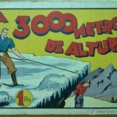 Tebeos: COMIC TBO A 300 METROS DE ALTURA 10 PAGINAS 31,5 X 21,5 CM (APROX). Lote 48736709