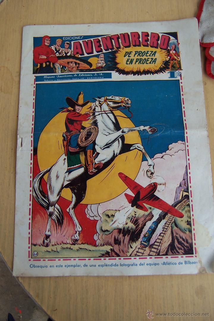 Tebeos: hispano americana el aventurero 2ª época nº 1 y lamina-2-4-12-20-21-22-25-26-27 - Foto 9 - 48820683
