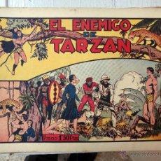 Tebeos: TARZAN EL HOMBRE MONO , EL ENEMIGO DE TARZAN , HISPANO AMERICANA , ORIGINAL , H. Lote 48964684