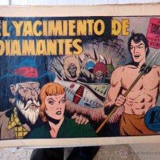 Tebeos: TARZAN EL HOMBRE MONO , EL YACIMIENTO DE DIAMANTES , HISPANO AMERICANA , ORIGINAL , H. Lote 48964741