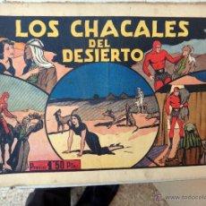 Tebeos: EL HOMBRE ENMASCARADO , LOS CHACALES DEL DESIERTO , ORIGINAL , H. Lote 48964881