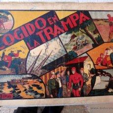 Tebeos: EL HOMBRE ENMASCARADO , COGIDO EN LA TRAMPA , ORIGINAL , H. Lote 48964977