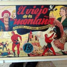 Tebeos: EL HOMBRE ENMASCARADO , EL VIEJO DE LA MONTAÑA , ORIGINAL , H. Lote 48965172