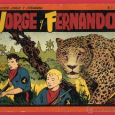 Tebeos: ALBUM JORGE Y FERNANDO , Nº 3 , HISPANO AMERICANA , ORIGINAL , H. Lote 48965526