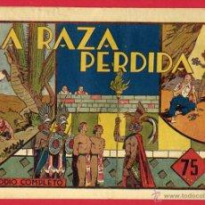 Tebeos: CARLOS EL INTREPIDO , LA RAZA PERDIDA , HISPANO AMERICANA , ORIGINAL , H. Lote 48981068