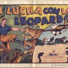 Tebeos: JUAN CENTELLA EN LUCHA CON LOS LEOPARDOS. Lote 49037191